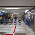 C-1 小田急線 改札口